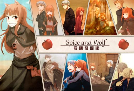 Spice and wolf by juanchillox