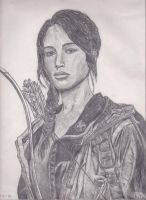 Katniss Everdeen by PopoKarimz