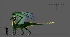 Green Dragon concept by Milreem