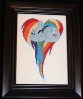 Rainbow Dash Cross Stitch by neila-nuruodo