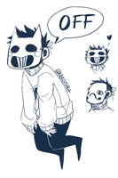 Zacharie by Nekomiira