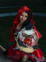 Evil Red Riding Hood by omaroman