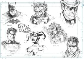 DC face study by J-Rayner