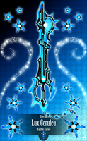 Honor Keyblade Lux Cerulea by Marduk-Kurios