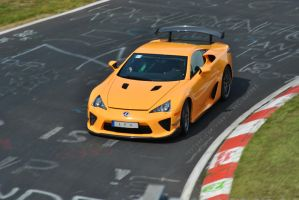 Lexus LFA Nurburgring Package by SystemPoison