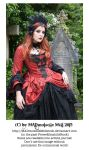 Vampire Queen Stock Gothic 002 by MADmoiselleMeliStock