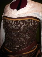 steampunk dress: top by ToddryElliott