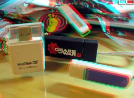 First Anaglyph by sharan