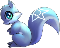 Blue Squirrel by NinjaHam