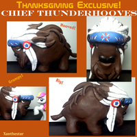 Chief Thunderhooves Blind Bag sculpt by XantheStar