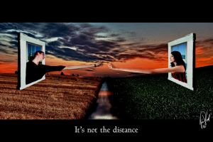 It's not the distance by psivamp
