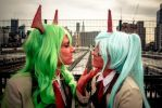 Such Beauty- Scanty and Kneesocks by SunshineAlways