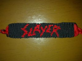Friendship Bracelt-Slayer Logo by KibaPandaRo
