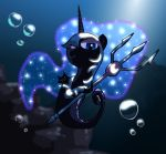 Sea Pony Nightmare Moon by alfa995