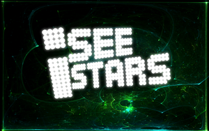 I See Stars [Blue/Green + Old Logo Style] by darkdissolution
