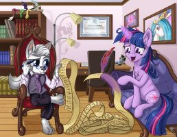 Twilight's Therapy Visit by Starbat
