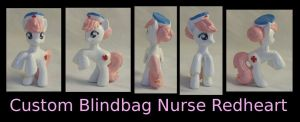 Custom Blindbag Nurse Redheart by Gryphyn-Bloodheart