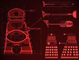 Dalek Wallpaper by Carthoris