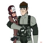 Wanna see my Solid Snake? by SimpleM8