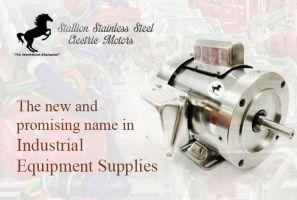 Stallion Stainless Steel Electric Motors by ssselectricmotors