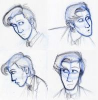 Eleventh Doctor Practice by Expression