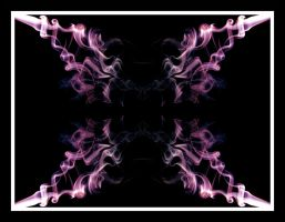 Abstract Smoke Series 05 by mgfletcher