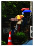 United colours of umbrellas by GDALLIS