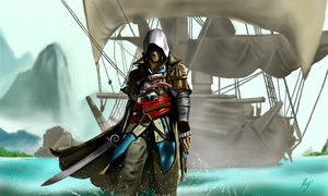 Assassin's Creed IV: Black Flag by WeaponX-Art