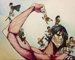 Attack on titan by WB940618