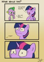 What about him ? by JayZonSketch