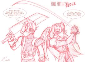 Final Fantasy Redux by blitterbug