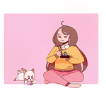 Bee And PuppyCat by Sa-chiii