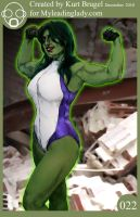 022 She Hulk Again by myleadinglady