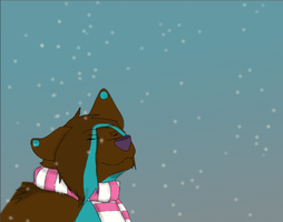Watching snow fall animation by firestar0630