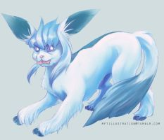 Glaceon by Rhocess
