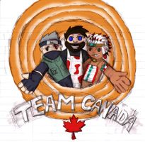 Team Canada :D by Kupomaro