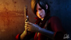 Ada Wong: Fire in Her Eyes by LoneWolf117