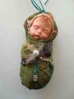 OOAK Nature Fairy Baby by rosannasart