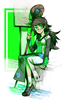 Acquaristuck Set 5 of 8: Jade by Jotaku