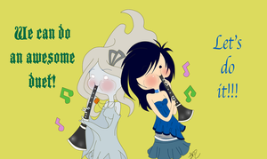 Question 18: Clarinet Duet by ChloeCorp