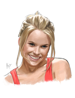 Alice Eve by fmagalhaes