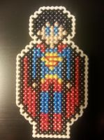 Superman Figure Pin by Sew-Madd