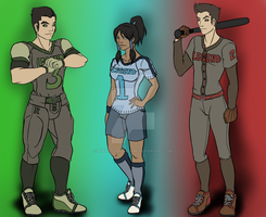 Team Avatar. Literally. by RisenEternalFlame