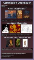 Commission Information 2014 by dragonictoni