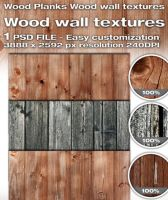 Wood Planks Wood wall textures by rejmann