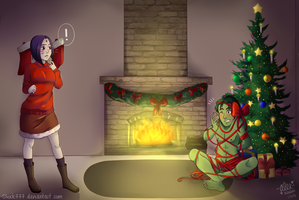 A BBRae Christmas Commission by shock777