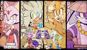 Contest: Sonic Team Boom by Sayamiyazaki