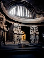 the Crypt of the Monument to the Battle of Nations by DanielGliese