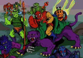 Evil Masters of the Universe by Boltax