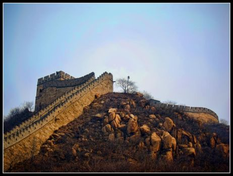 The Great Wall of China by CashMcL